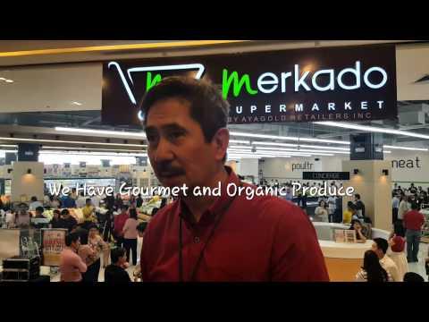 What and Where is Merkado Supermarket?