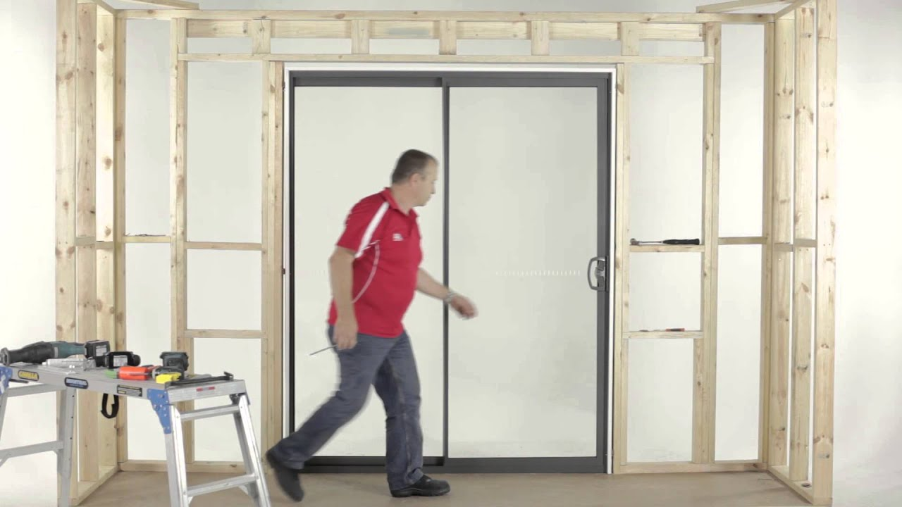 How to Adjust an A&L Sliding Door - YouTube Aluminium Gl Sliding Doors Perth on