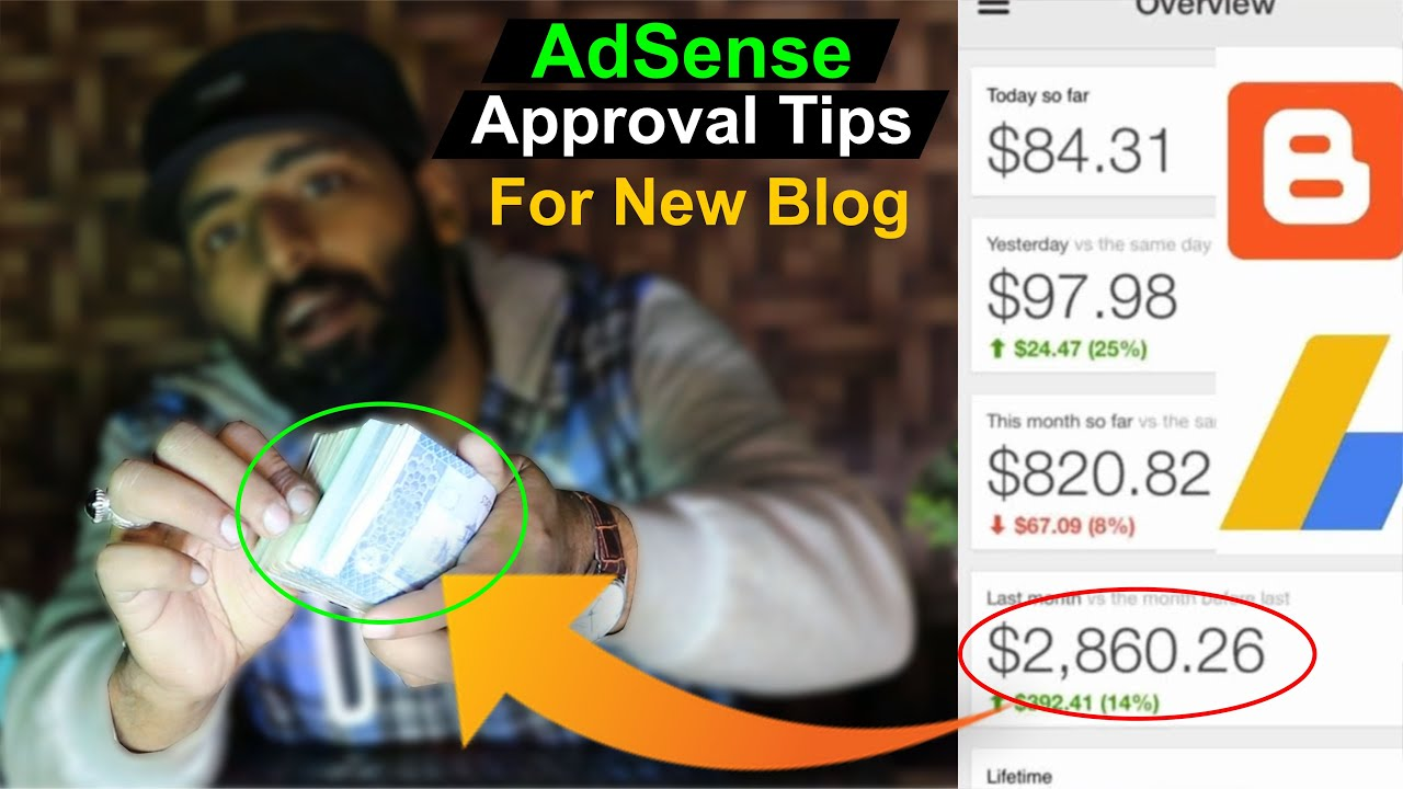 Google AdSense Approval 2021 For New Blog