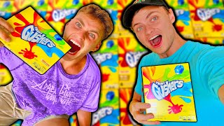 Who Can Eat The Most Gusher Wins!!