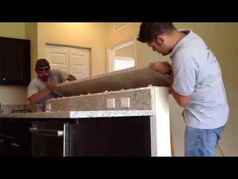 Granite Countertop Installation Miami, Florida