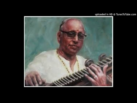 KS Narayanaswamy-Marivere Gati Evaramma-Anandabhairavi-Misra Chapu-Shyama Shastri-Veenai