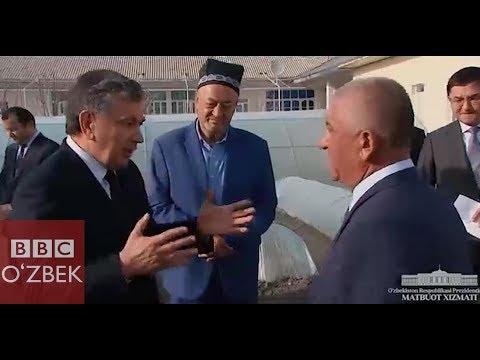 Мирзиёев нечта товуқ боқади? - BBCUZBEK.COM