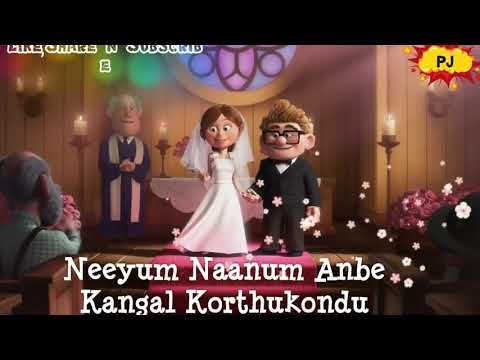 Imaikkaa Nodigal | Neeyum Naanum Anbe(Unofficial Tamil Animated video song) | HipHop Tamizha | ft.Up