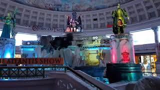 """Бесплатное шоу """"Гибель Атлантиды"""" в Лас-Вегасе"""