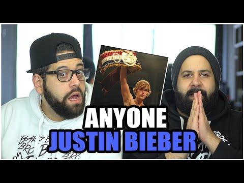 BIEBER BALBOA!!! Justin Bieber - Anyone *REACTION!!