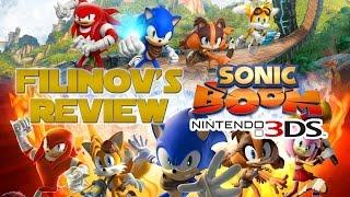 FIlinov's Review - Sonic Boom для Nintendo 3DS