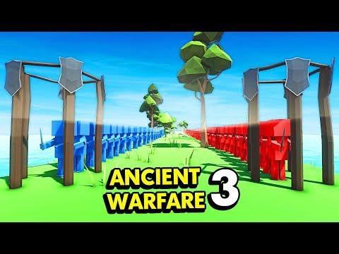 INFINITE UNIT SPAWNERS IN ANCIENT WARFARE 3 (Ancient Warfare 3 Funny Gameplay)