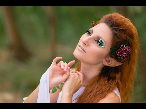 FANTASY FAIRY CELTIC FOREST ELF makeup look | thesecretmirror