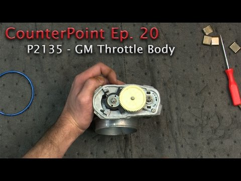 Wells CounterPoint Ep. 21 GM Throttle Body Repair (P2135)