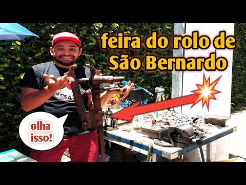 Feira Do Rolo São Bernardo SP  A Primeira Do Ano Bora Caçar Ferramentas Usadas Em Bom Estado Raras