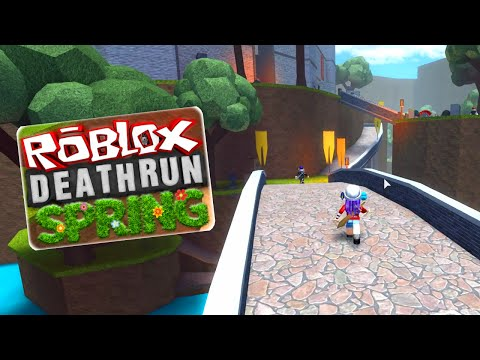 ROBLOX LET'S PLAY DEATHRUN | I'M DEATH! | RADIOJH GAMES & SALLYGREENGAMER