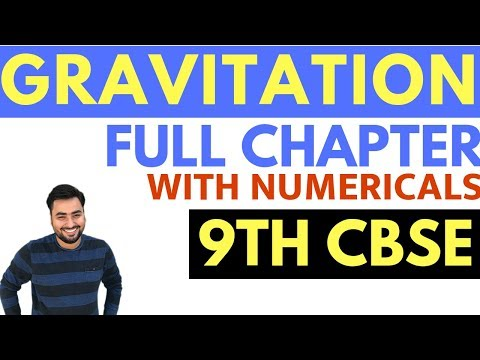 gravitation-(full-chapter-with-numericals)- -class-9-cbse