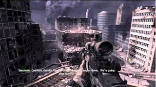Awesome SNIPER Mission from Call of Duty MW 3