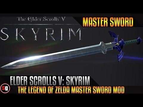 The Elder Scrolls V: Skyrim - The Legend Of Zelda Master Sword Mod