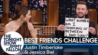 Best Friends Challenge with Justin Timbe...