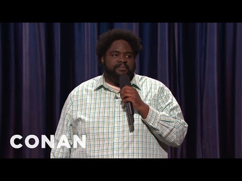 Ron Funches StandUp 080411   CONAN on TBS