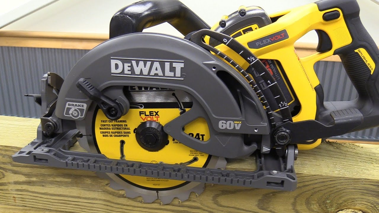 Dewalt 60v Rear Handle Framing Saw Youtube