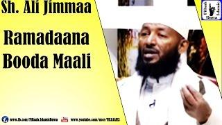 Ramadaana Booda Maali? | Sheikh Ali Jimmaa