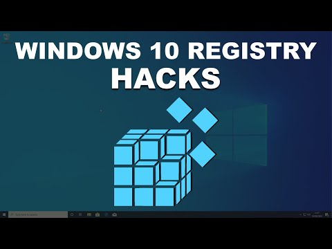 A Better Windows 10 With Some Registry Hacks