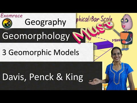 3 Geomorphic Cycles of Slope Development - Davis, Penck and King