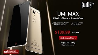 Umi Max Special Promotion for $139.99!【100psc Limited Everyday】Aug 22-31