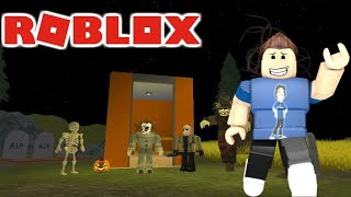 Halloween Scary Elevator | World Of Roblox