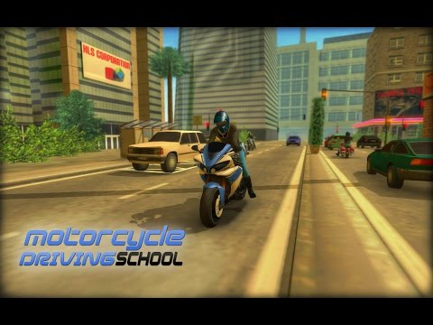 Motorcycle Driving School iOS / Android Gameplay HD