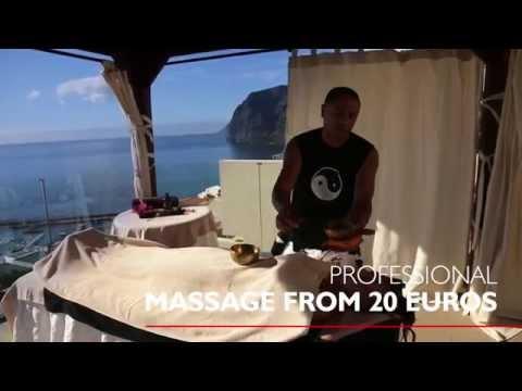 "Professional massage in ""Royal Sun Resort"""
