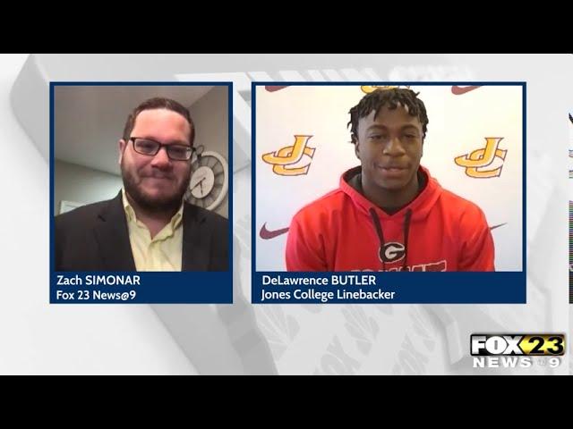 Linebacker from Jones Bobcats talks about current football season