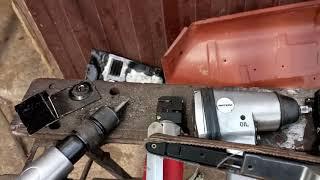 пневмоинструмент для ремонта и реставрации