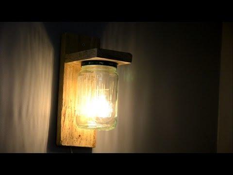 Wood?working? Diy lamp :)