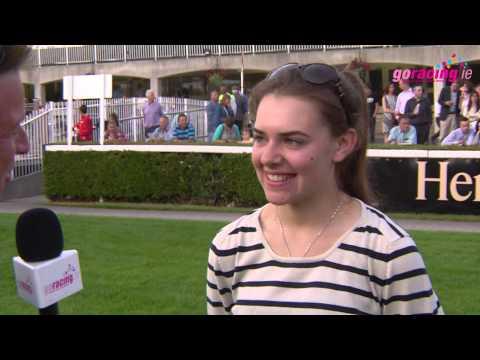 Ana O'Brien Talks to Kevin O'Ryan ahead of the Darley Irish Oaks at the Curragh this Saturday
