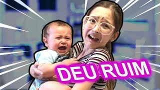 VIREI BABÁ POR UM DIA!! 100% REAL - NANNY FOR A DAY