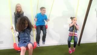 Little tikes : 3 in 1 Oslo Wood Swingset