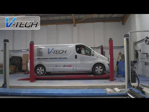 MOT & Wheel Alignment Bay Install, Clarkes Vehicle Service Ltd