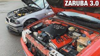 КТО БЫСТРЕЕ? BMW E36 4.4 vs Audi 80 4.2 B4