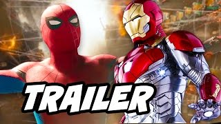 Spider Man Homecoming Trailer - Iron Man and New Villain Revealed