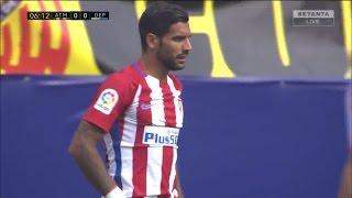 Augusto Fernández vs Deportivo de la Coruña (25-09-16) 1080 HD