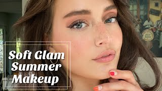 Glowy Natural Summer Makeup 2020