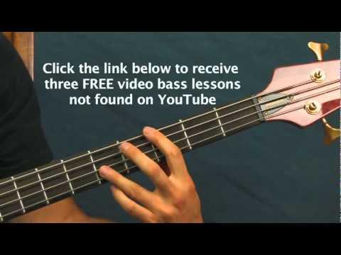 easy bass guitar song lesson superfreak rick james super freak