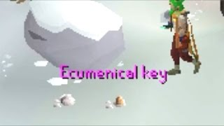 High Alching Ecumenical key's For Pure Cash! - 1 Hour Challenge