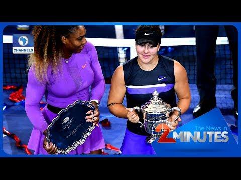 Update: Canadian Teen Andreescu Stuns Serena In US Open Final