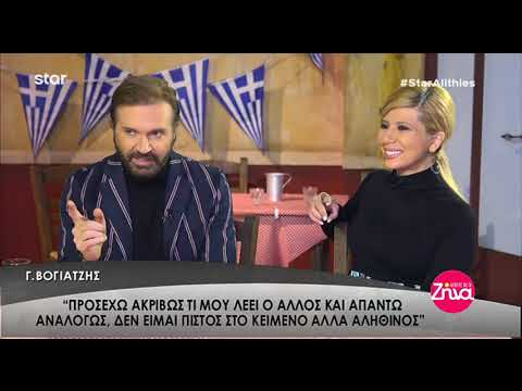 "Entertv: Ο Γιάννης Βογιατζής στην εκπομπή ""Αλήθειες με τη Ζήνα"" Α'"