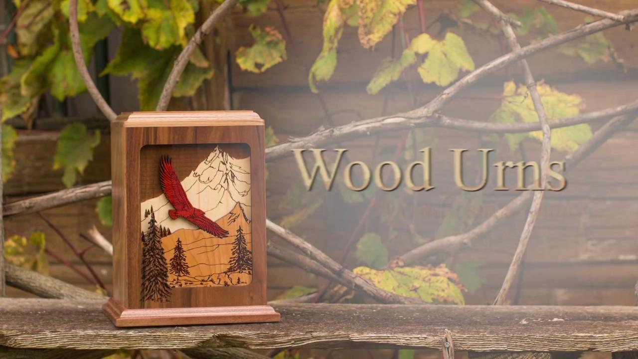 Stardust Memorials Product Showcase: Wood Cremation Urns