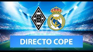 (SOLO AUDIO) Directo del Borussia M. 2-2 Real Madrid y Atleti 3-2 Salzburgo en Tiempo de Juego