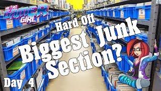 Hard Off Game Hunt BIGGEST JUNK SECTION in Japan? Day 4 VLOG | Retro Gamer Girl