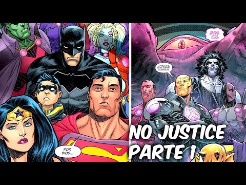 "LIGA DE LA JUSTICIA Vs TITANES OMEGA ""NO JUSTICE"" PARTE 1 @SoyComicsTj"