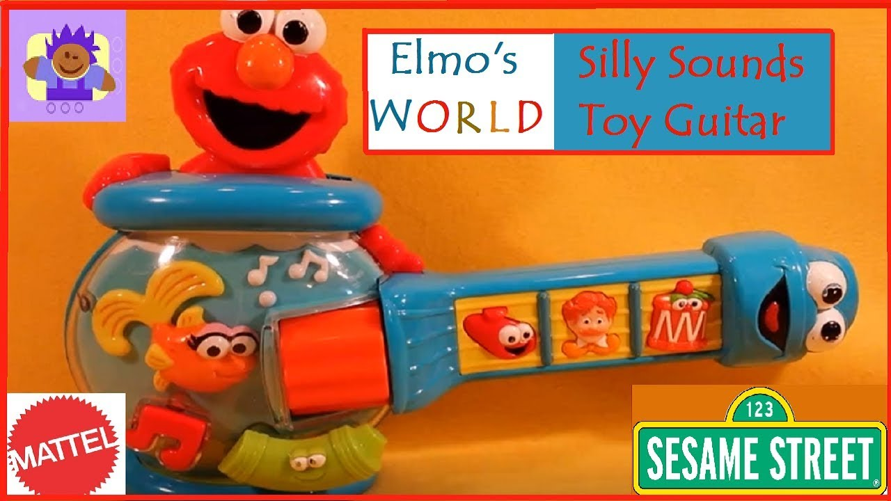 Sesame Street Musical Toys : Mattel sesame street elmo s world silly sounds