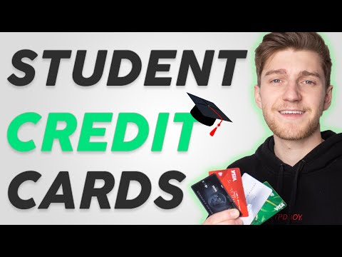 Top 5 Credit Cards For Students! (Cash-Back & Points) 💳